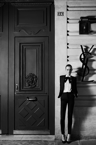 Одежда Saint Laurent Couture