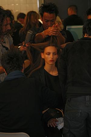 Показ Elie Saab коллекции сезона Весна-лето 2009 года Prêt-à-porter - www.elle.ru - Подиум - фото 84586