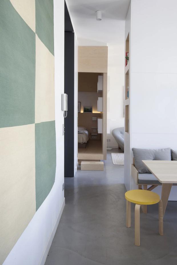 Минималистская квартира 47  м²  в Париже (фото 9)