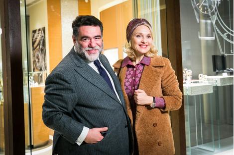 Звезды на открытии бутика Omega в галерее «Времена года» | галерея [1] фото [1]