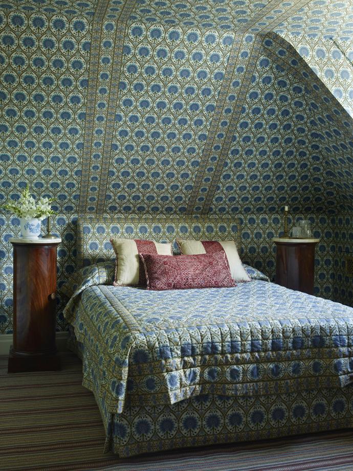 Кровати с необычными изголовьями: 30 примеров (галерея 0, фото 4)