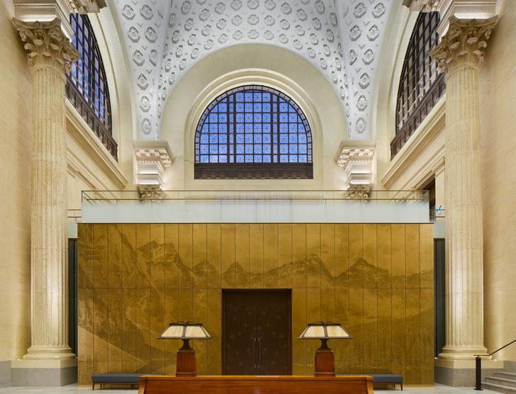 Новый дом Сената Канады в здании бывшего вокзала Оттавы (фото 2)