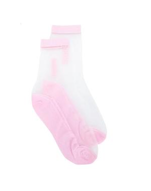 Микротренд: кроссовки + прозрачные носки (фото 4.2)