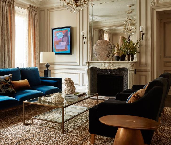 Эклектичный интерьер квартиры в Париже (фото 4)