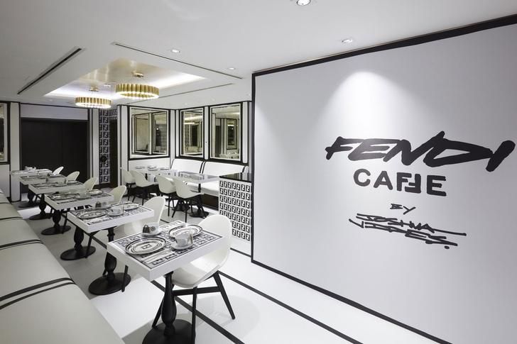 От руки: графический pop-up бутик Fendi (фото 0)