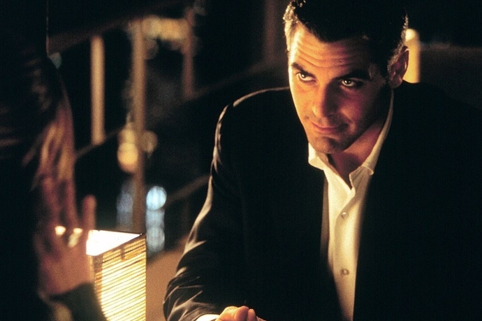 «Вне поля зрения» (Out of Sight), 1998 Джордж Клуни