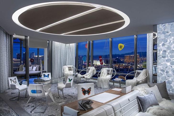 Дэмиен Херст оформил номер в отеле Palms Casino Resort (фото 3)