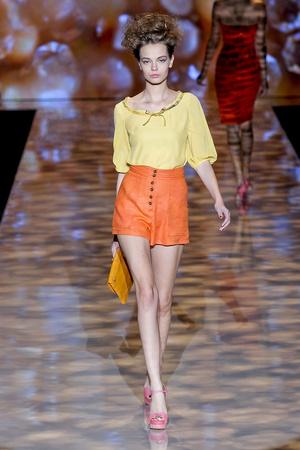 Показы мод Badgley Mischka Весна-лето 2012 | Подиум на ELLE - Подиум - фото 2021
