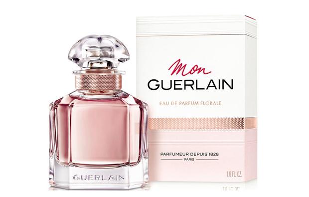 Анджелина Джоли в рекламной кампании нового Mon Guerlain Florale (фото 1)
