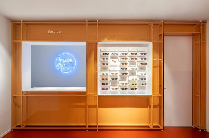 Яркая оптика: флагманский бутике Ace & Tate в Амстердаме (фото 7)