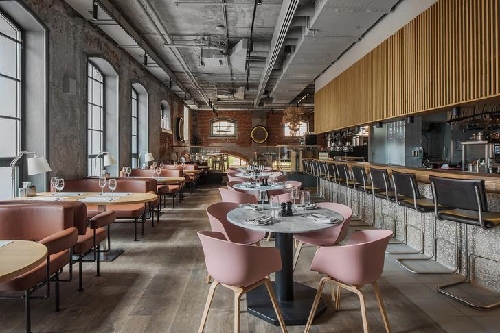 Проект бюро АrchPoint: ресторан «Комбинат» в Москве (фото 15)