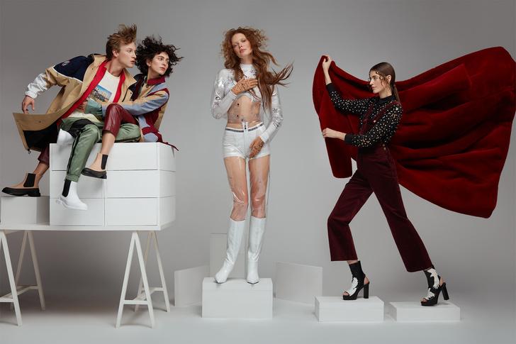 Сезонный сейл в «Цветном»и модные аллюзии на Возрождение в новой съемке (фото 1)