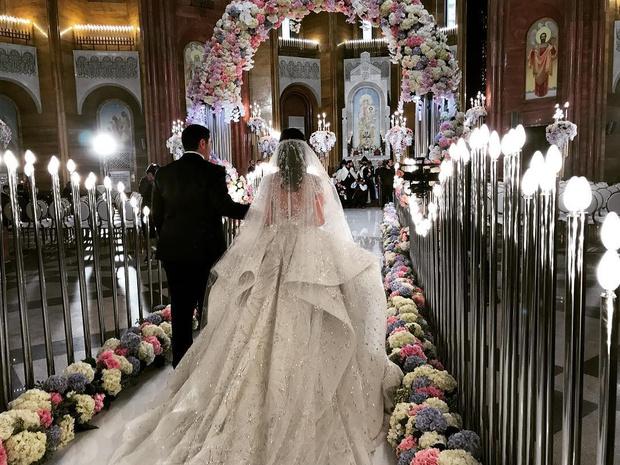 Как прошла свадьба младшего сына миллиардера Самвела Карапетяна? фото [8]