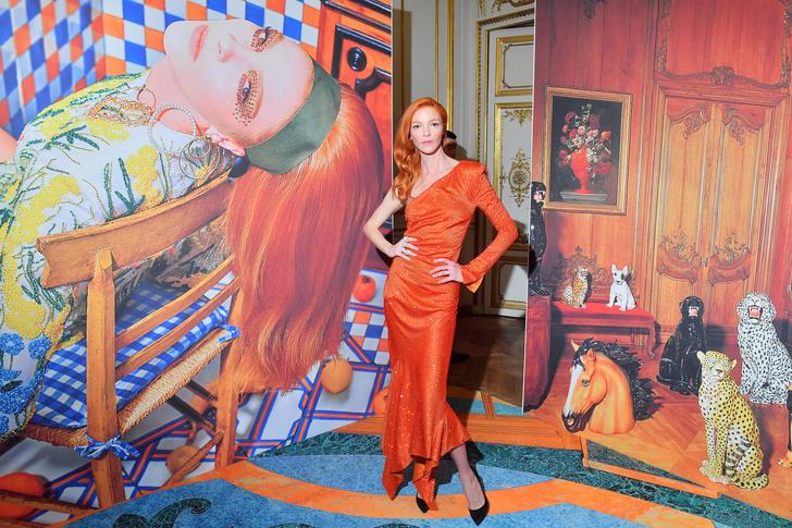 Как с полотна Матисса: Мариякарла Босконо на вечере Swarovski (фото 2)