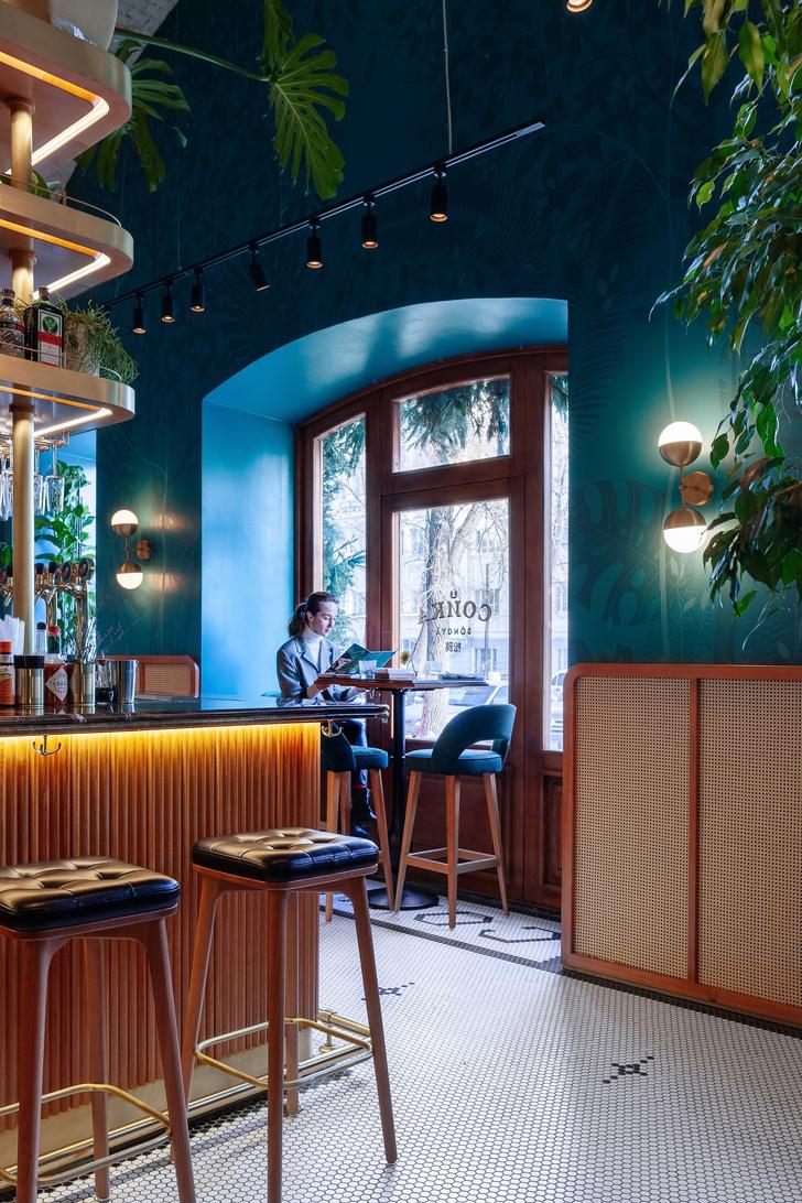 """Ресторан """"Сойка"""" в Екатеринбурге: проект Hot Design Folks (фото 3)"""