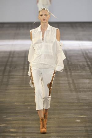Показы мод Alexander Wang Весна-лето 2011 | Подиум на ELLE - Подиум - фото 2662
