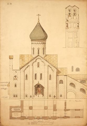 До 6 декабря в МУАРе проходит выставка «Итальянские постройки Алексея Щусева» фото [1]
