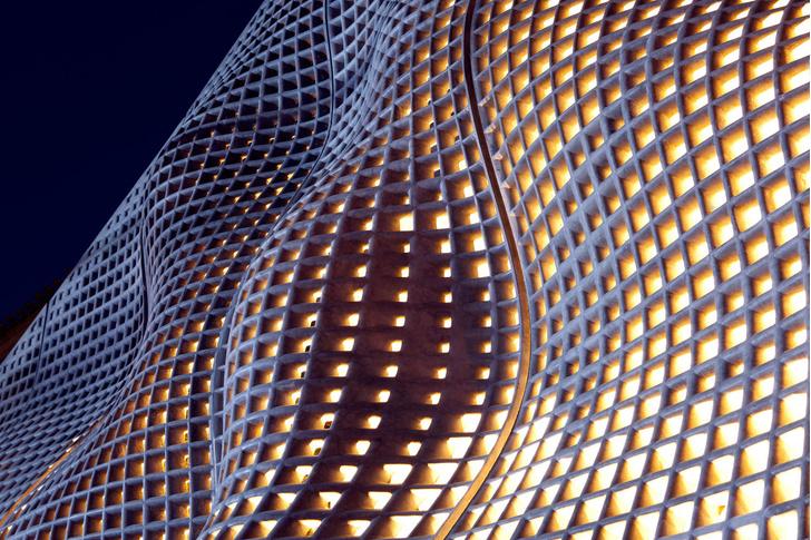 Невесомый бетон: экспериментальный фасад в Пекине (фото 5)