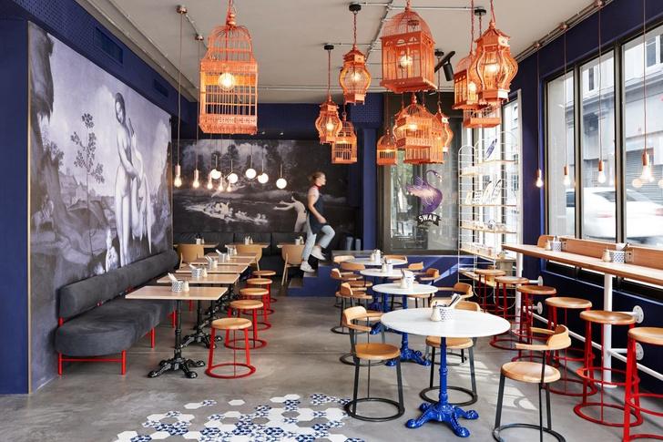 Swan Café — уголок Парижа в Южной Африке (фото 2)
