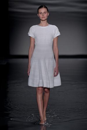 Показ Maison Rabih коллекции сезона Осень-зима 2011-2012 года Haute couture - www.elle.ru - Подиум - фото 277866