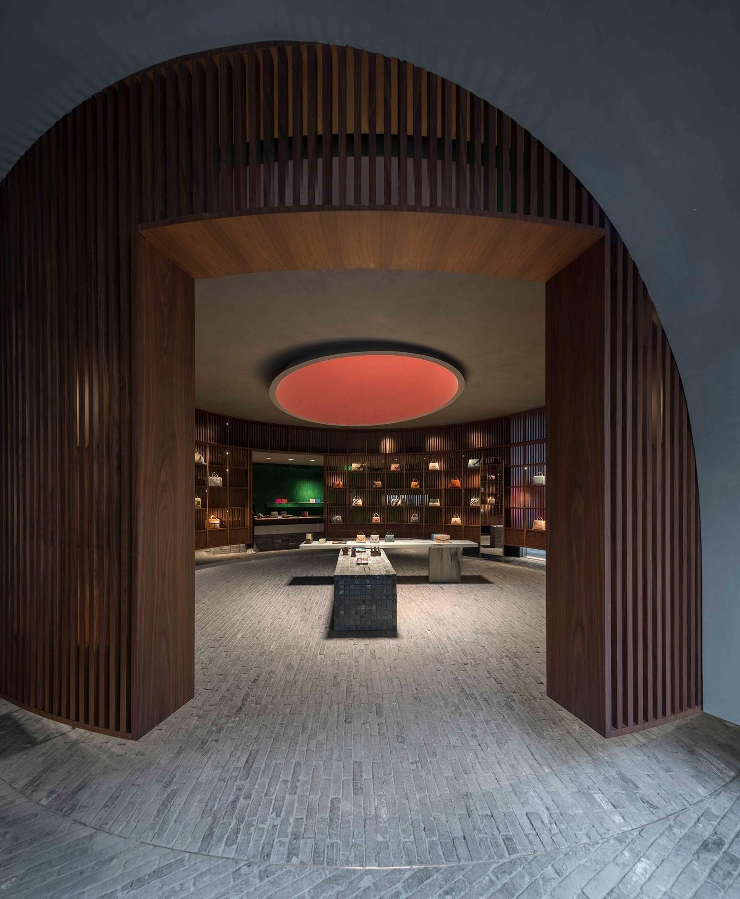 Дизайнерский бутик Valextra в Китае (галерея 6, фото 2)