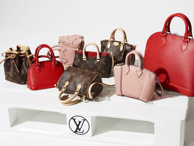 Louis Vuitton представляет новую коллекция сумок Nano Bags