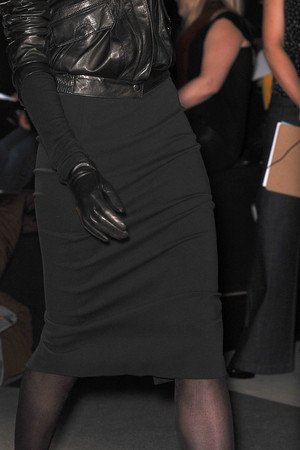 Показ DKNY коллекции сезона Осень-зима 2009-2010 года prêt-à-porter - www.elle.ru - Подиум - фото 89984
