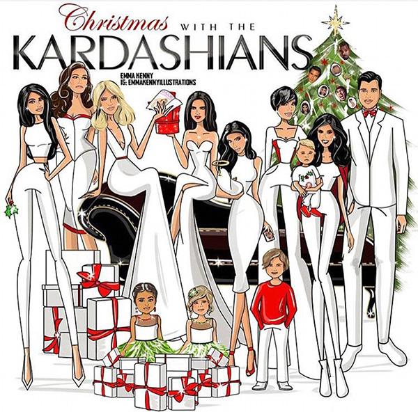 Рождественская открытка, 2015 год