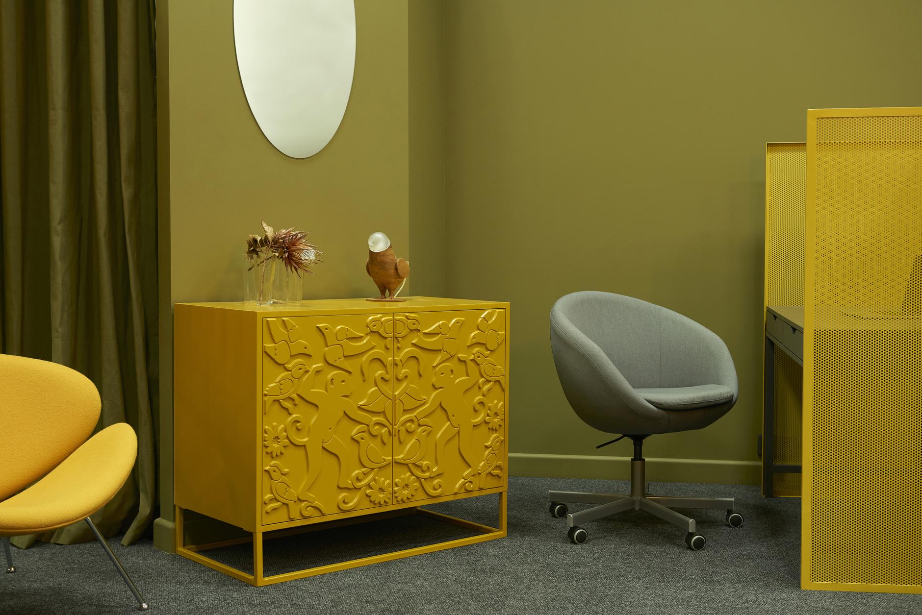 Любовь к цвету: офис интерьерной студии в Бресте (галерея 11, фото 1)