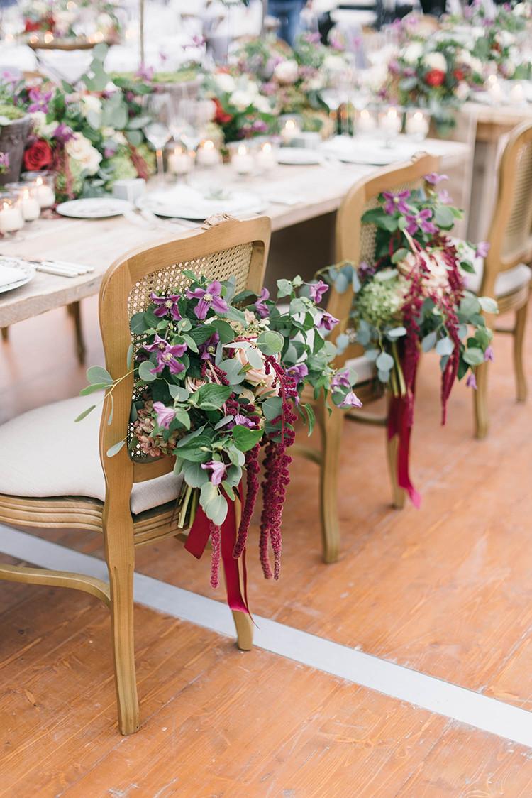 20 идей для сервировки и декора свадебного стола (галерея 1, фото 4)