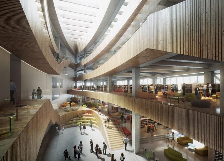 Городская библиотека в Калгари от бюро Snøhetta (фото 10)