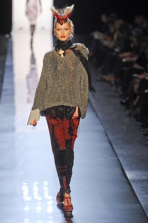 Показ Jean Paul Gaultier коллекции сезона Весна-лето 2011 года Haute couture - www.elle.ru - Подиум - фото 217248
