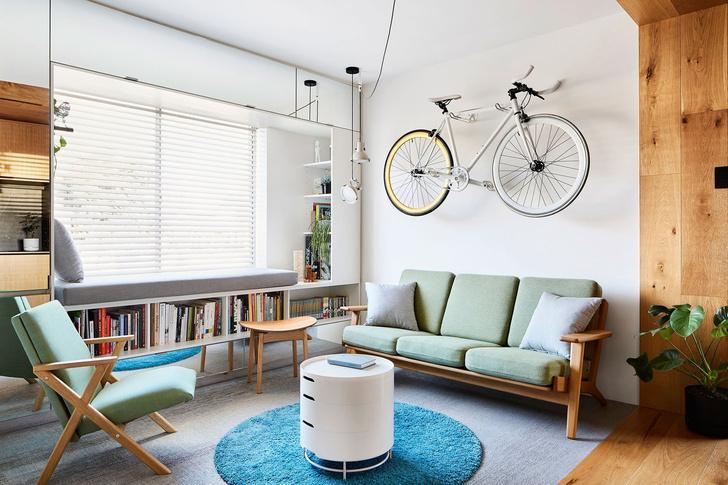 Минималистичная квартира 35 м² в Мельбурне (фото 0)
