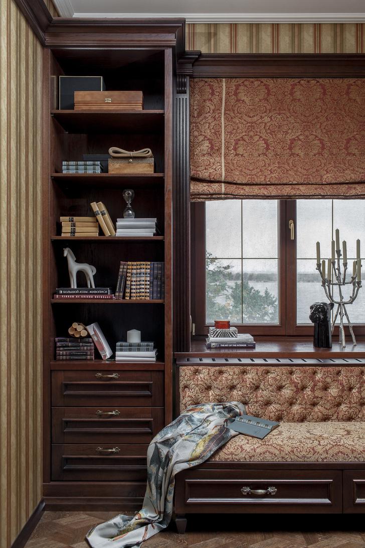 Классический интерьер квартиры в Самаре (фото 7)