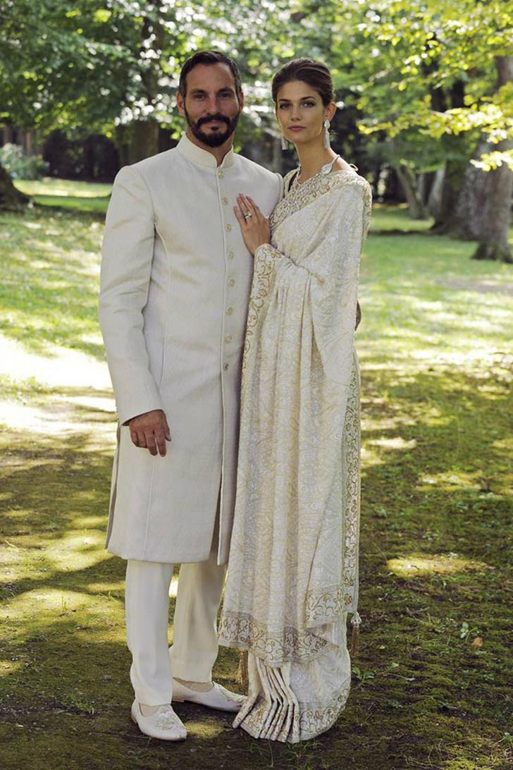 Принц Рахим Ага Хан и и принцесса Сальва Ага Хан