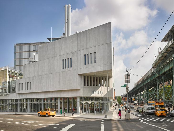 Новый корпус Колумбийского университета по проекту Ренцо Пьяно (фото 0)