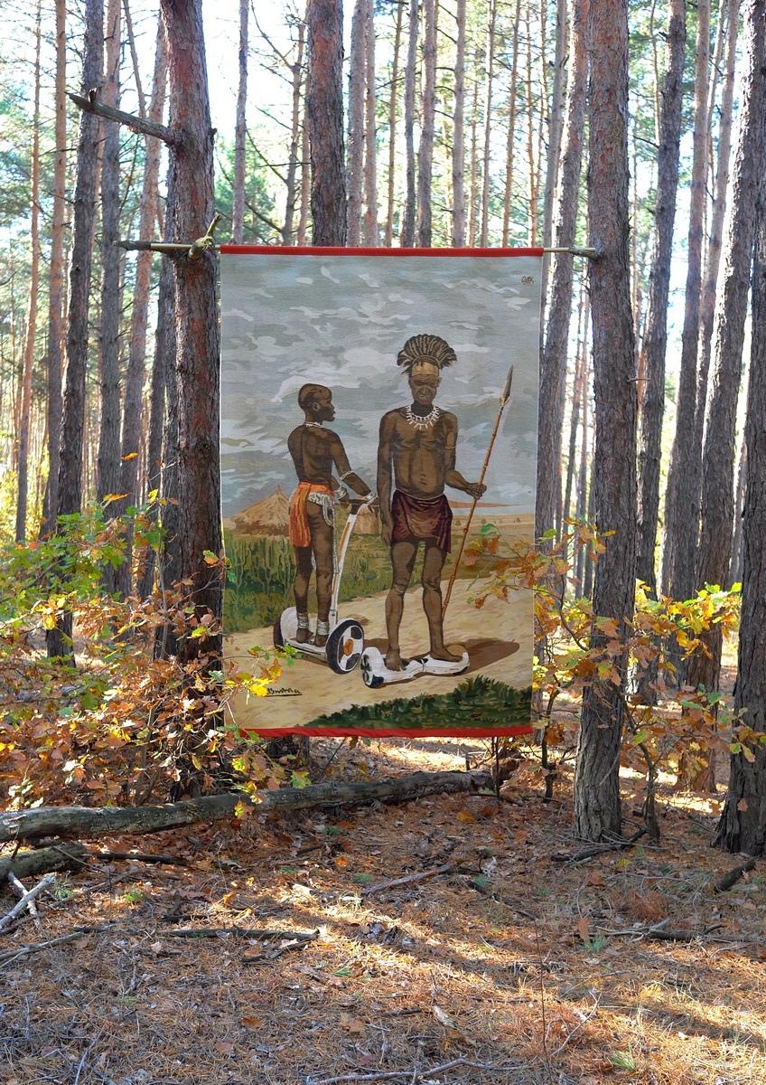 Украинские килимы и пикачу: художник Оксана Левченя (галерея 12, фото 2)