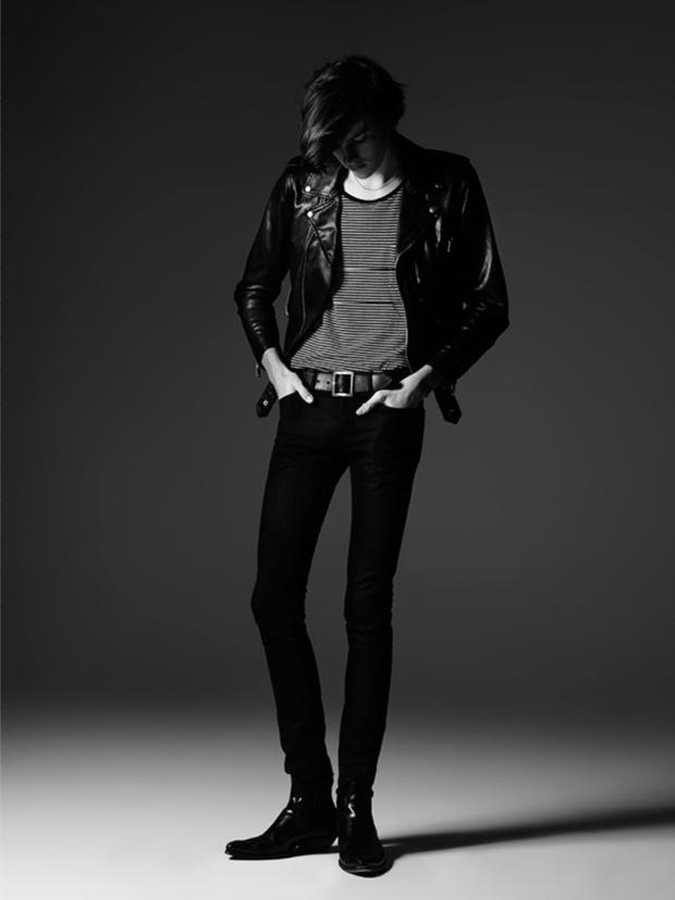 Дилан Броснан в рекламе Saint Laurent