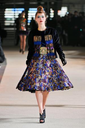 Показы мод Manish Arora Осень-зима 2012-2013 | Подиум на ELLE - Подиум - фото 1453