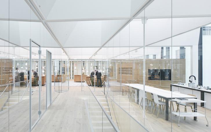 Новое здание штаб-квартиры Swarovski от студии Snøhetta (фото 9)