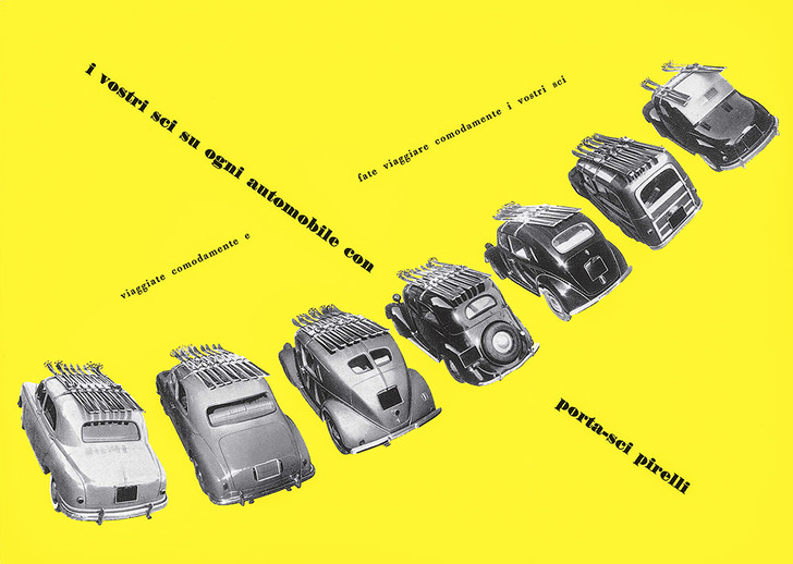 Реклама автомобильных аксессуаров Kartell