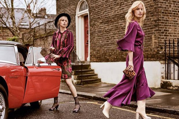 Невероятно красивая Джорджия Мэй Джаггер в новой рекламной кампании (фото 7)