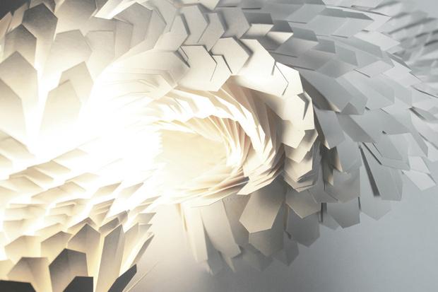 Светильники- из бумаги (фото 6)