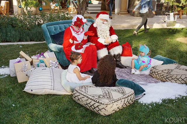 Ким и Кортни Кардашьян устроили детям праздник (фото 3)