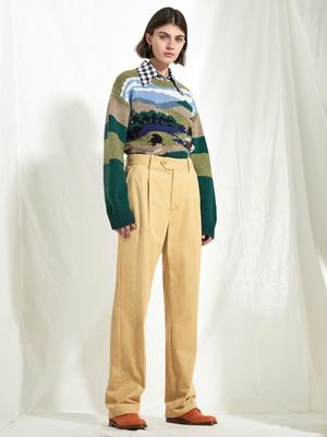 7 новых способов носить брюки на высокой талии (фото 26)
